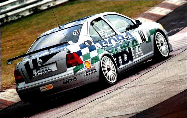 24 H NEburgring 4.-6. Juni 1999 Rennszene 1 Foto: G. & H. MEler