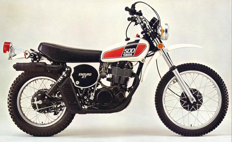 YAMAHA XT500 TT500 WERNHER