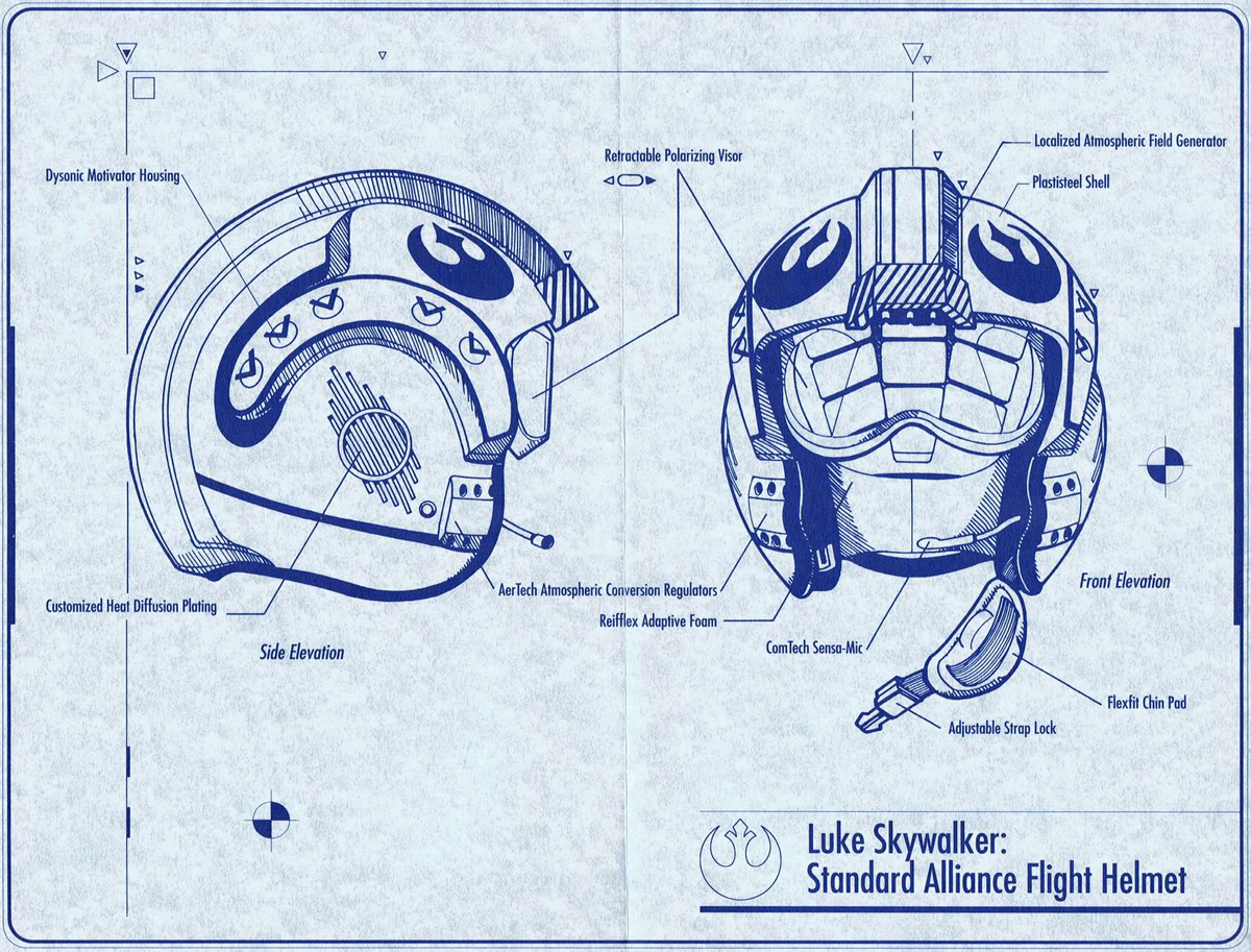 LUKE SKYWALKER HELMET WERNHER