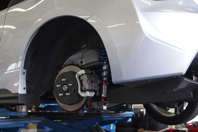 SACHS PERFORMANCE COILOVER 86 BRZ 14R WERNHER ブルーエリア