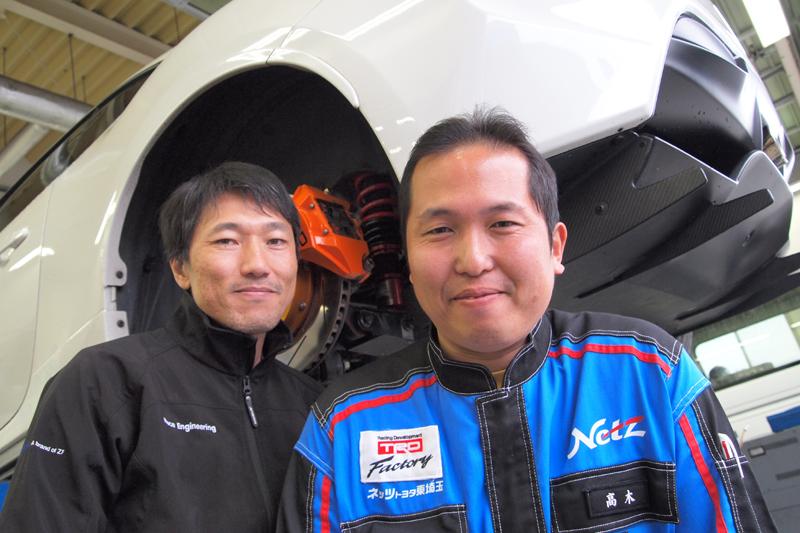 SACHS RACING 86 14R60 DAMPER ザックス サスペンション レースエンジニアリング アネブル 蘇武さん ブルーエリア
