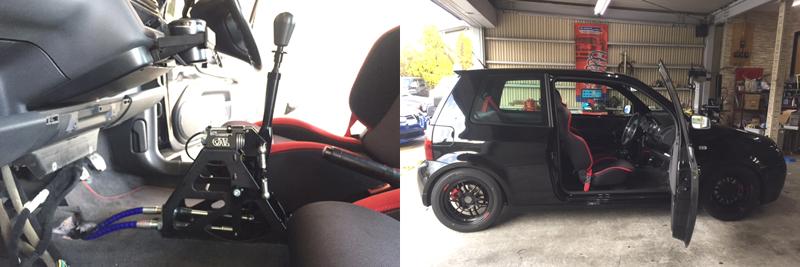 デイトリッパーCAE ULTRA SHIFTER VW LUPO GTI