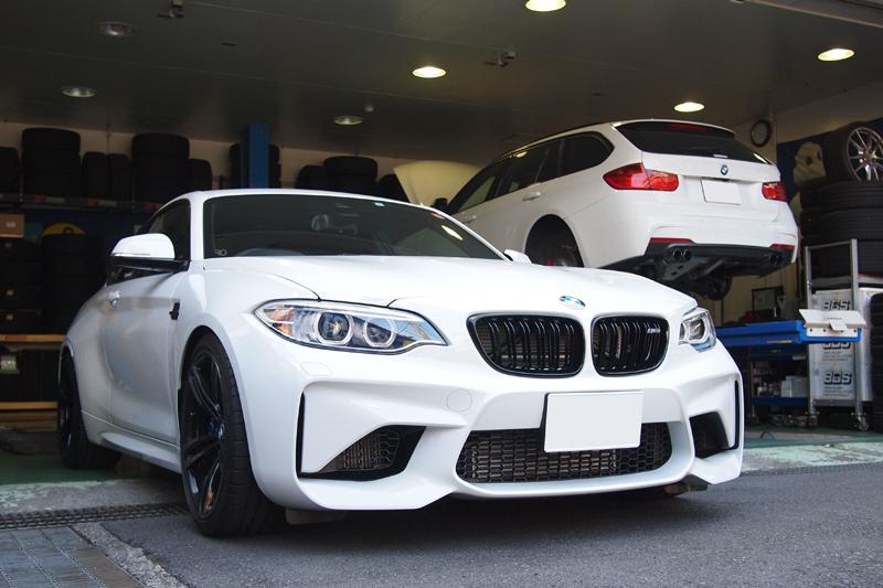 BMW専門店 ベイファール八王子 ザックス車高調整 BMW M2 SACHS PERFORMANCE COILOVER WERNHER ヴェルナー パフォーマンスコイルオーバー PCO