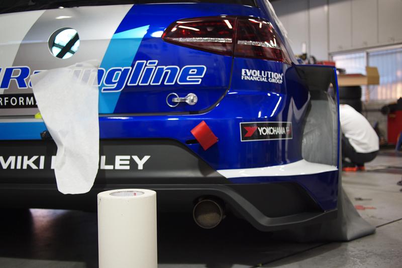 密山選手 TCR VW GOLF RACINGLINE JAPAN ADENAU アデナウ レーシングライン ゴルフGTI S耐