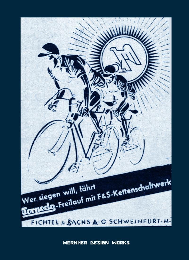 シュヴァインフルト ドイツ ザックス 自転車 wernher ヴェルナー