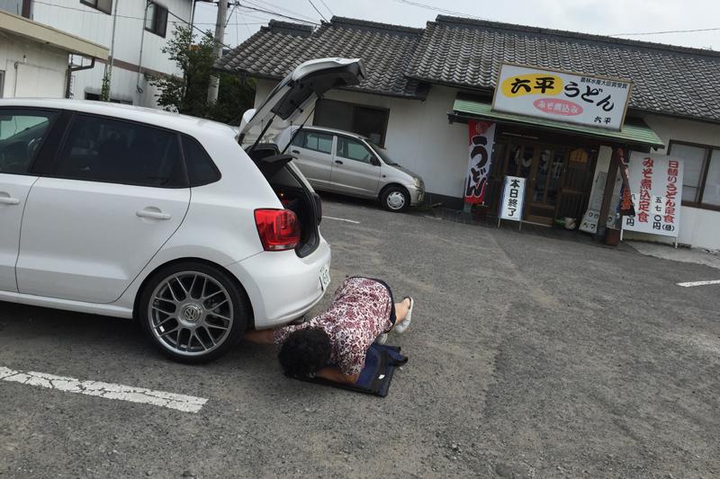 六平うどん 香川 高松 アウトシュタット岡林社長 SACHS VW 6R POLO ポロ GTI ヴェルナー