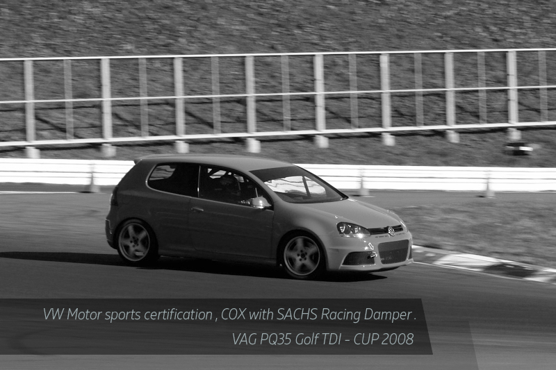 COX GOLF TDI CUP SACHS WERNHER PERFORMANCE