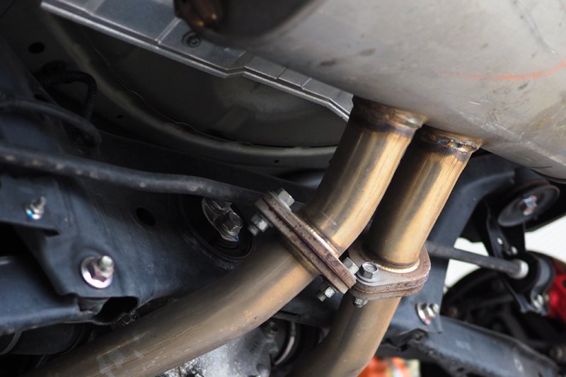 86 BRZ シープドック アーキュレー シェーフェルンド マフラー エキゾースト