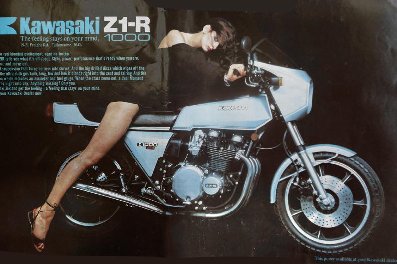 WERNHER Z1R KAWASAKI 1978AD