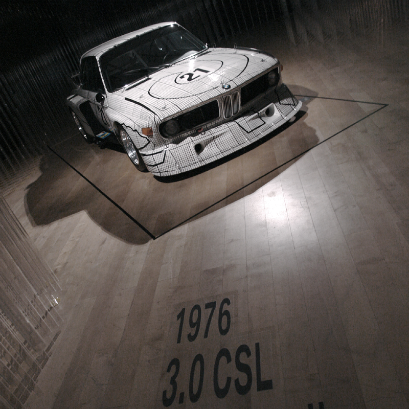 BMW 3.0CSL WERNHER F,STELLA76
