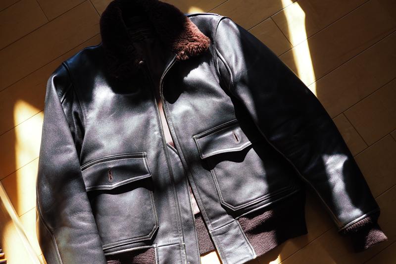 G1 ジャケット ジャンパー 革 アビエーション