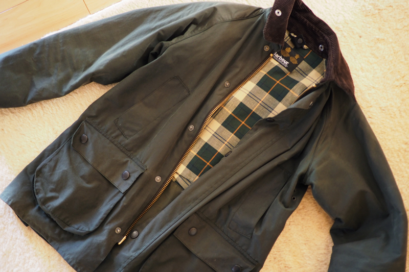 BARBOUR バブアーコート オイル リプール WERNHER
