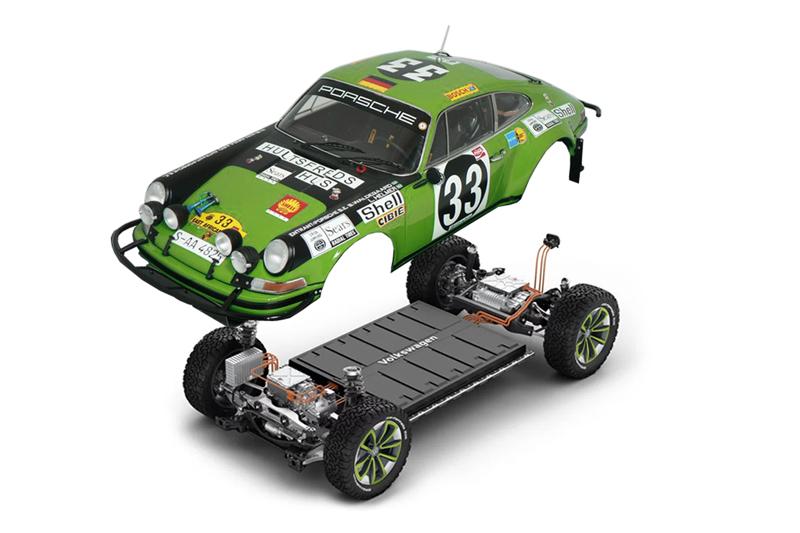 VW MEB PRATFORM DUNE EV BUGGY PORSCHE RALLY