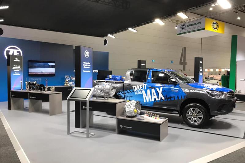 SACHS Performance MAX トヨタハイラックス ダンパー