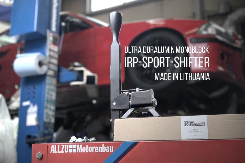 BMW IRP SHIFTER シフター ヴェルナー