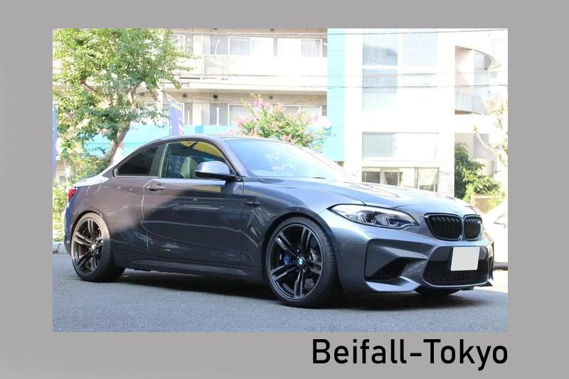 ベイファール八王子 SACHS ザックスパフォーマンスコイルオーバーサスペンション BMW M2