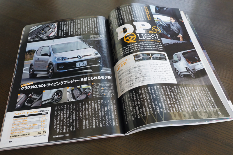カートップ 黒沢元治 UP GTI VW SACHS