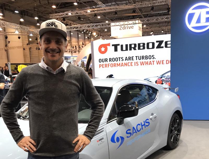 スバルドイツ BRZ ティムシュリック 限定車 SACHS PERFORMANCE 車高調整