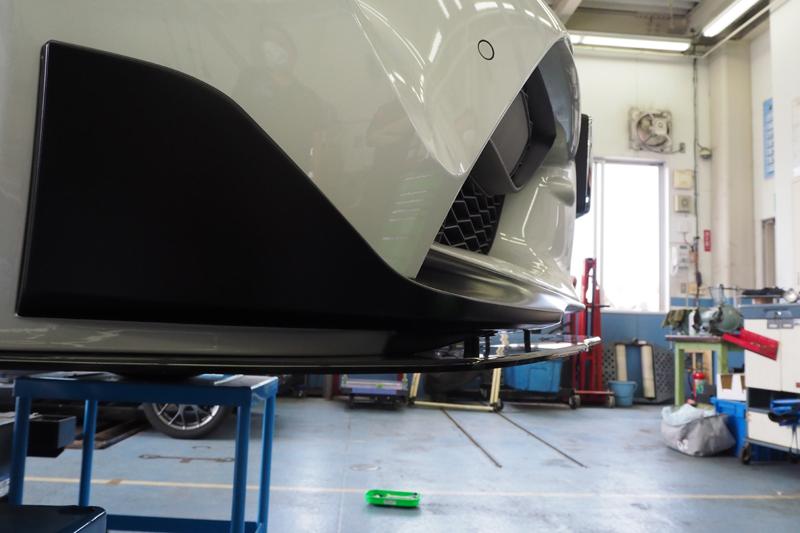 GRガレージさいたま中央 ネクストイノベーション GRスープラ用 スポイラー 装着 KORE OBJ WERNHER ヴェルナー A90 SUPRA