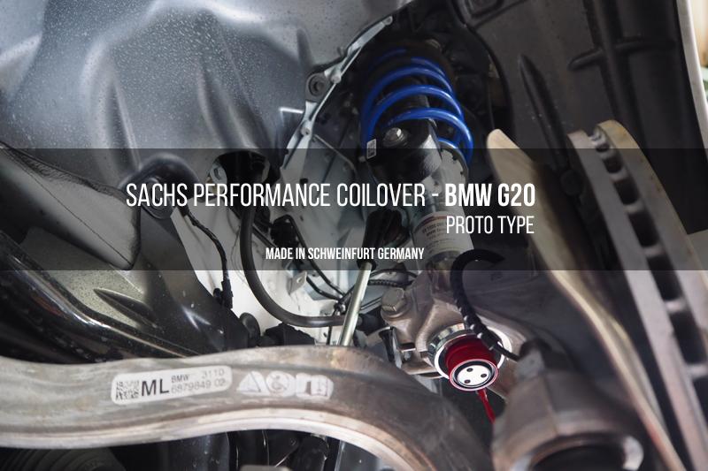 SACHS PERFORMANCE COILOVER BMW G20 ザックス パフォーマンスコイルオーバー 車高調整 サスペンション