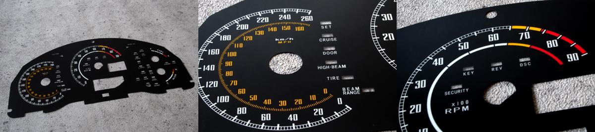 86 BRZ INDICATER インディケーター メーターパネル