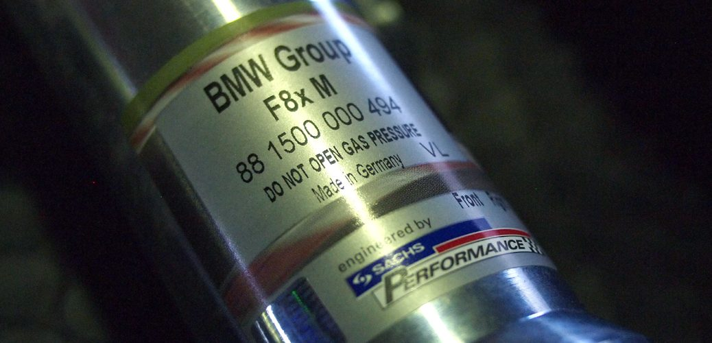 SACHS PERFORMANCE COILOVER 000484 BMW M2 M3 M4 車高調整 サスペンションセット