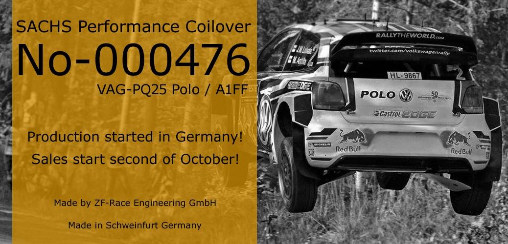 SACHS Performance VW POLO 6R ザックス サスペンション