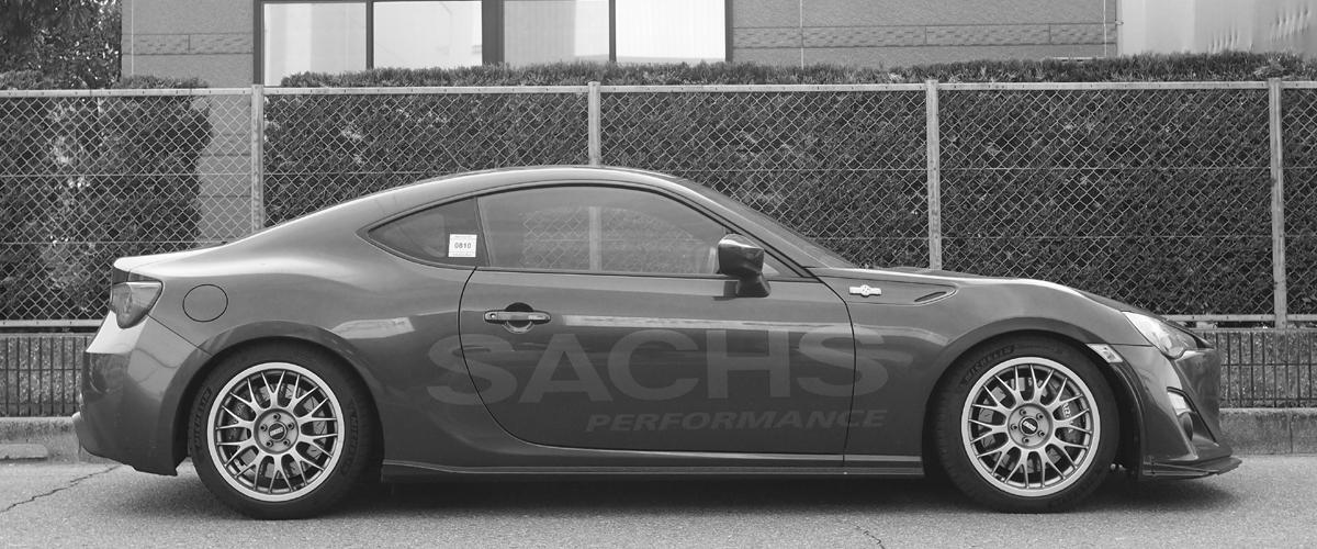 中央発條 86 SFC SACHS ザックス車高調整専用