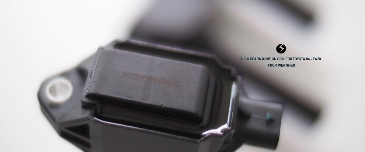 ハイスパーク イグニッション コイル 86 BRZ 点火強化 HIGH SPARK IGNITION COIL