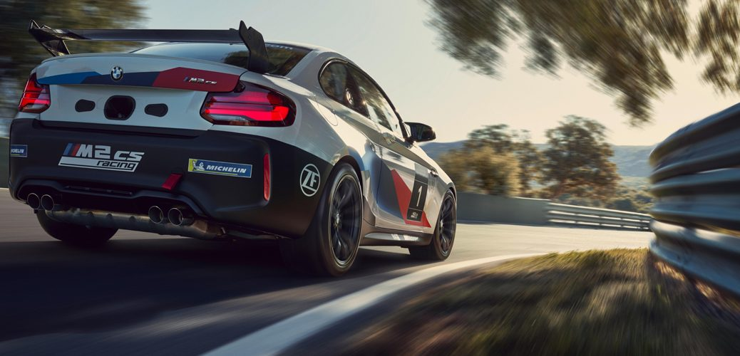 ZF SACHS WERNHER BMW M2 CS RACING
