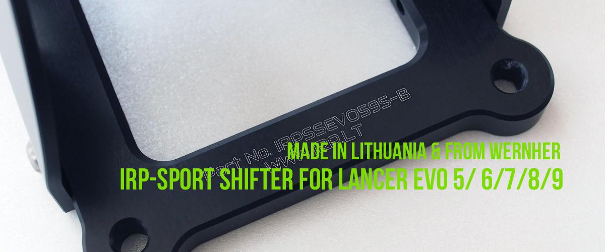 IRP SPORT SHIFTER LANCER EVO スポーツシフター ランサーエボリューション