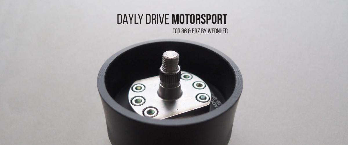 DAYLY DRIVE MOTORSPORT DDM ステアリングボス 純正ステアリング対応 86 BRZ