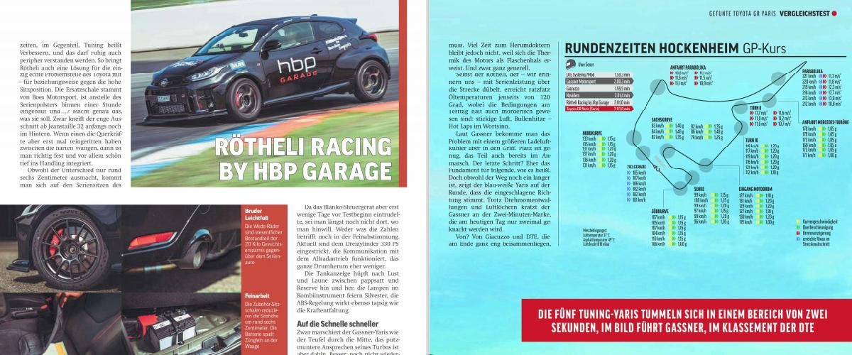 dte powercontrol racing edition gr yaris