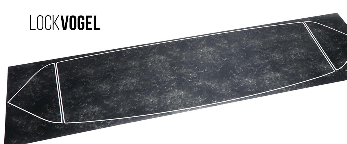 LOCKVOGEL ロックボーゲル GRヤリス マーブルカーボン柄 結晶カーボン ミラーカバー リアスポイラー ステッカー ラッピング カッティングシート