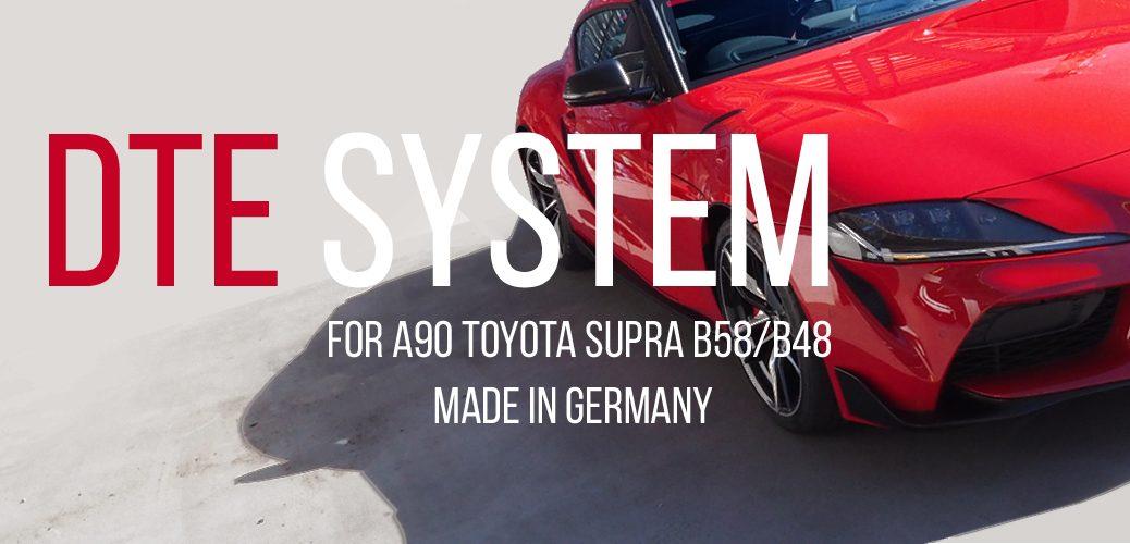 DTE SYSTEM A90 SUPRA TOYOTA