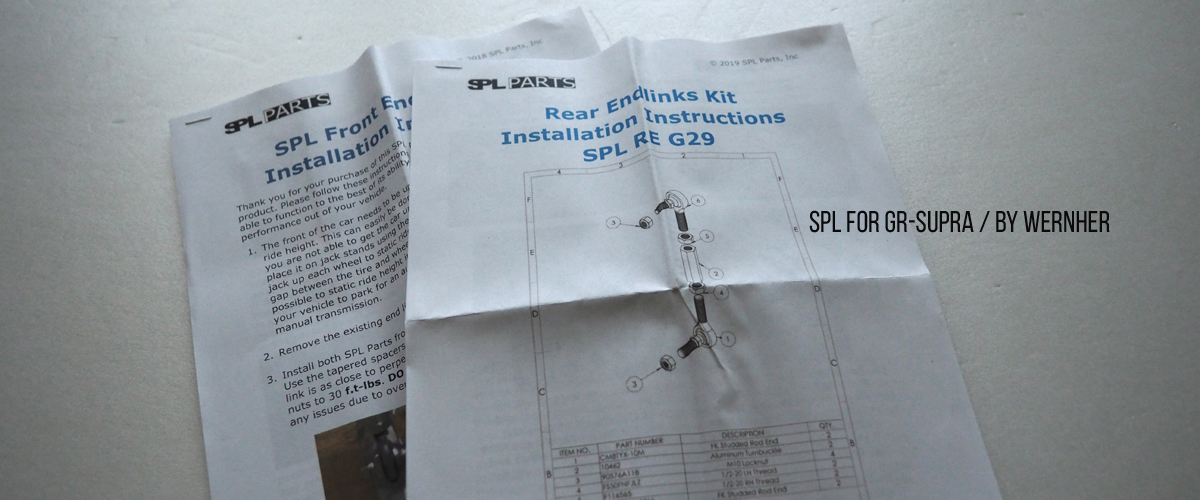 SPL GR SUPRA A90 スープラ