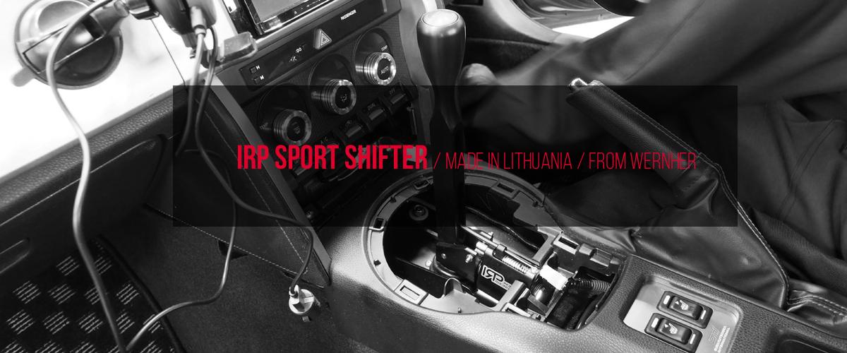 IRP SPORT SHIFTER スポーツシフター 86 BRZ