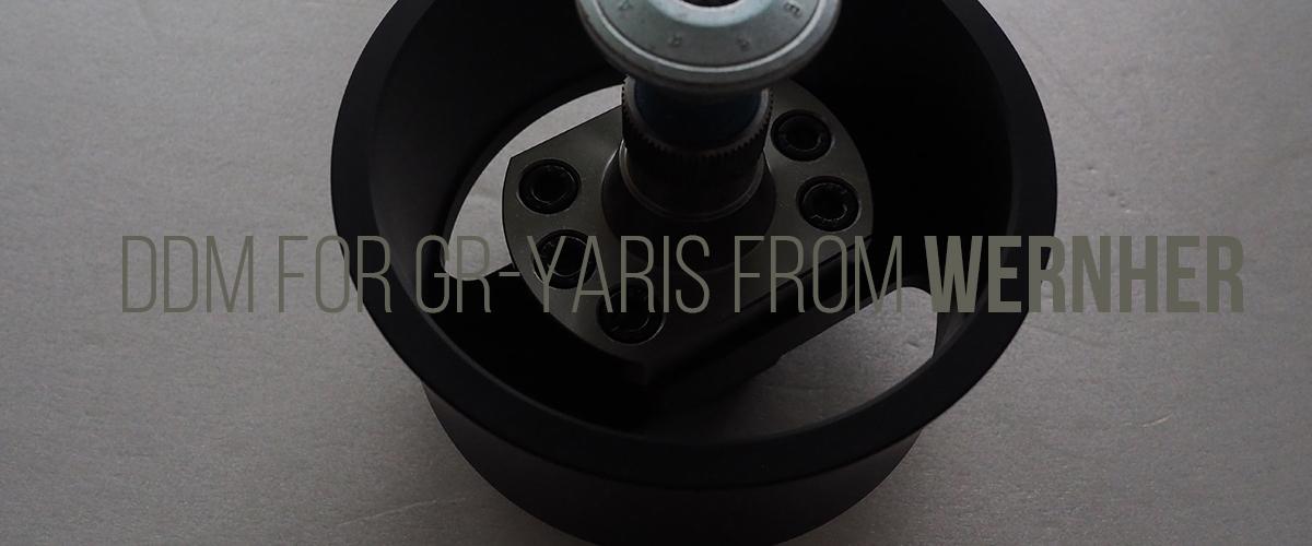 DDM GR YARIS ヤリス ステアリングコラム エクステンダー